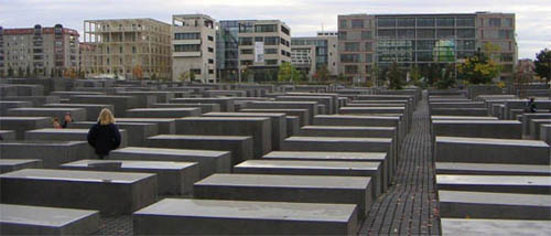 Holocaust minnesmerke i Berlin