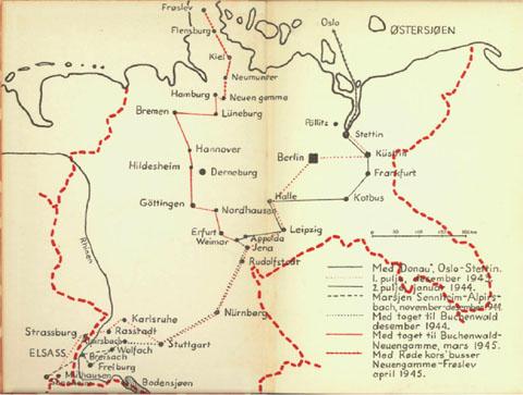 konsentrasjonsleir tyskland kart Min far satt i Tyskland   Thor Holms dagbok